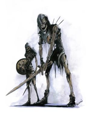 Undead footman