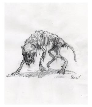 Undead wolf